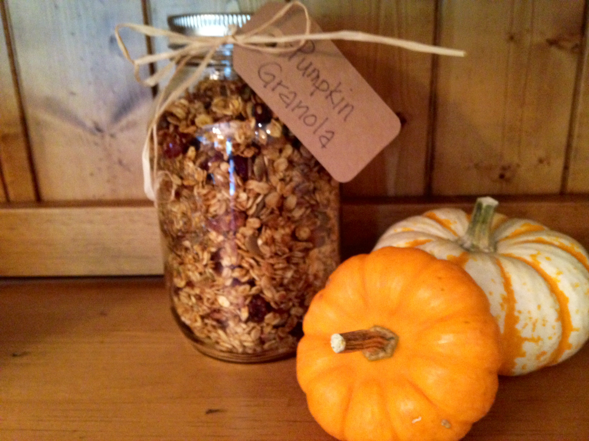 Pumpkin Granola | Simply Made