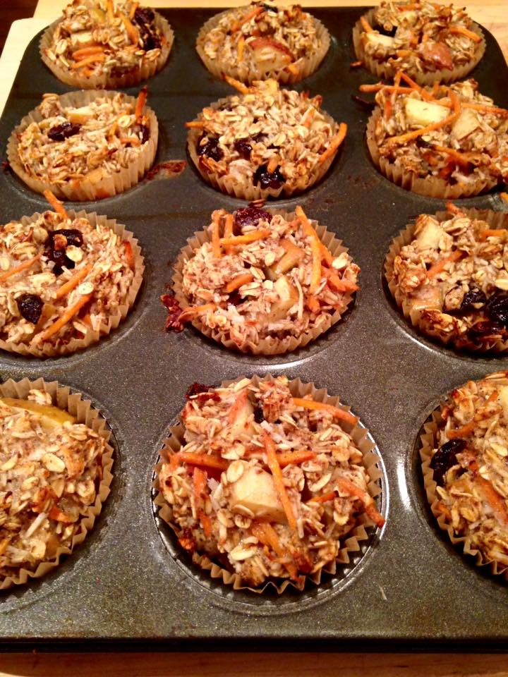 Energy Oatmeal Muffins | Simply Made