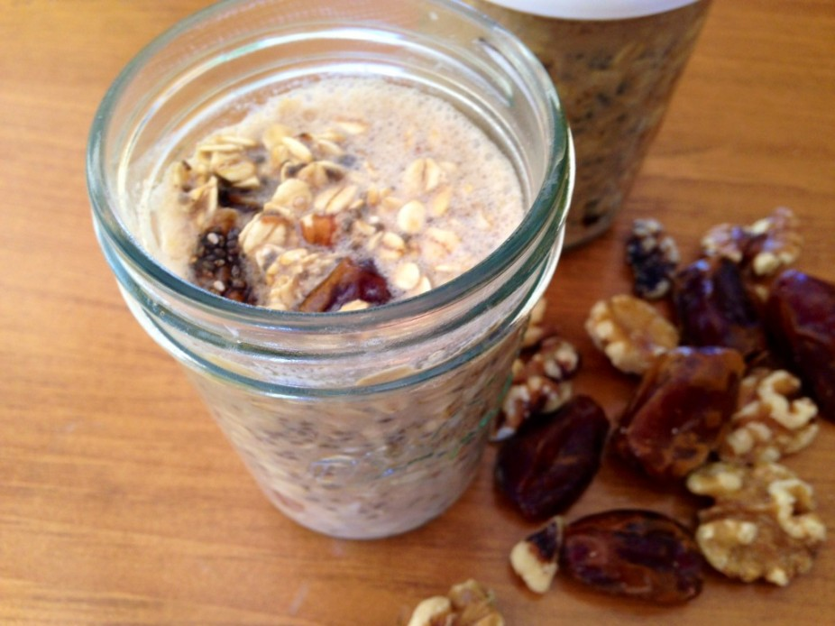 Date Bar Oatmeal In A Jar