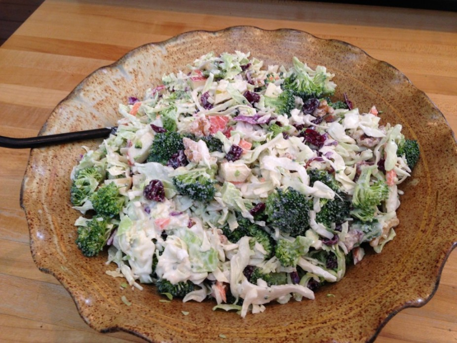 Broccoli & Cabbage Salad