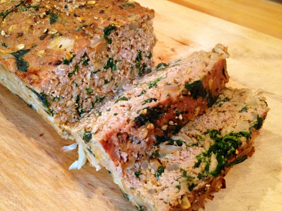 Pumpkin & Spinach Turkey Loaf