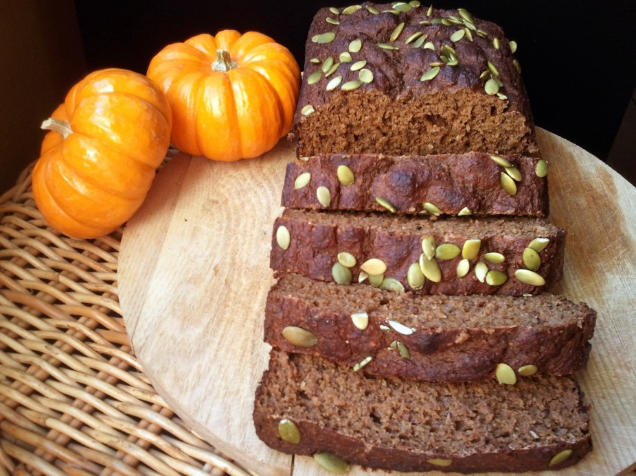Chocolate Mocha Pumpkin Protein Loaf