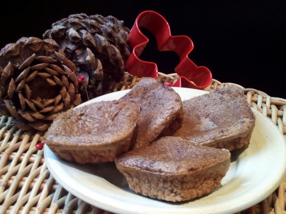 Gingerbread Cookie Egg Muffins