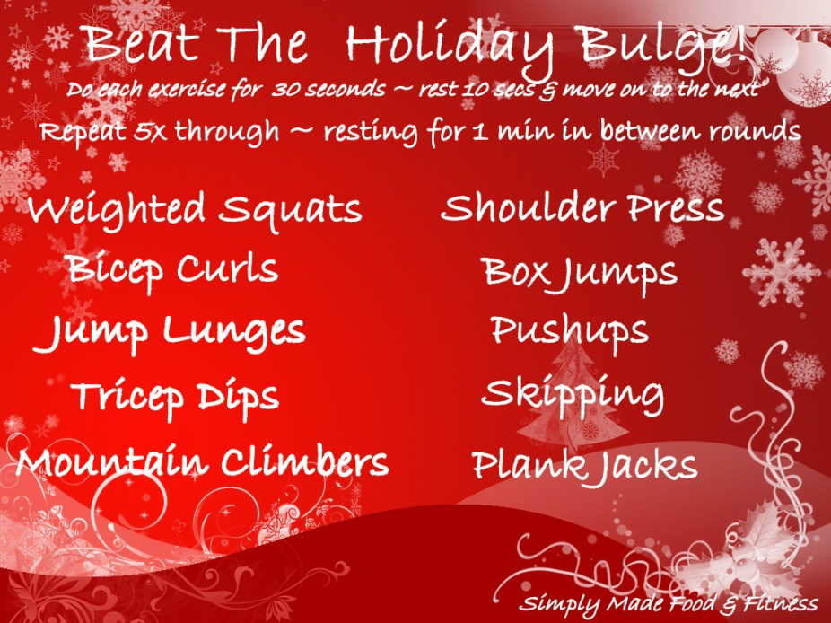 Beat The Holiday Bulge