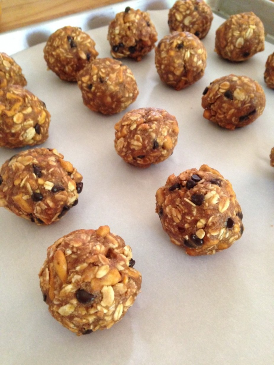 Sweet & Salty Peanut Butter Balls