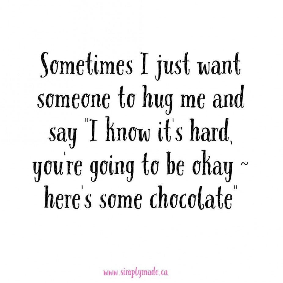 Chocolate & Hugs