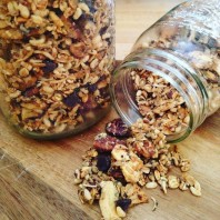 Peanut Butter & Banana Chip Granola