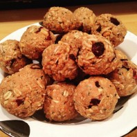 Peanut Butter & Honey Energy Balls