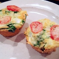 Simple Quinoa Egg Muffins