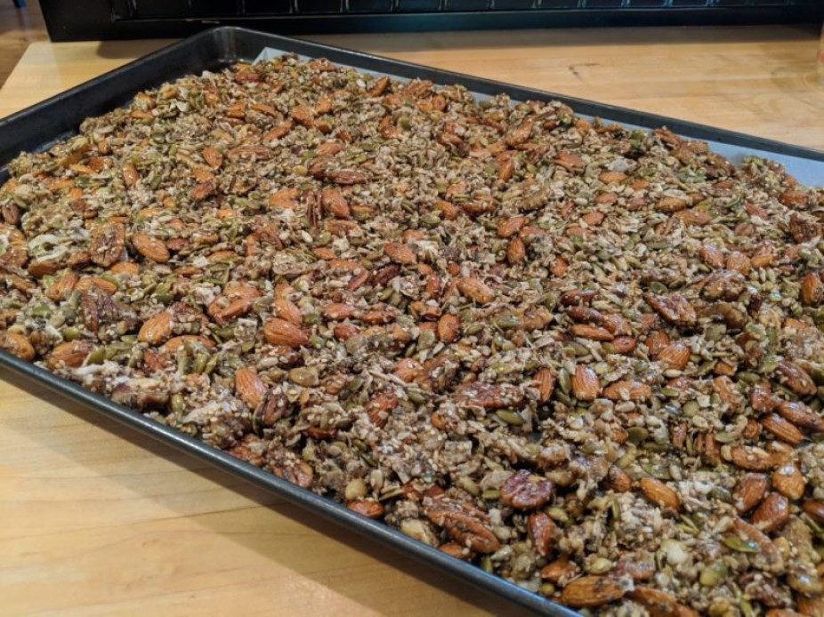 Coconutty Nut & Seed Granola