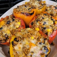 Tex Mex Stuffed Peppers