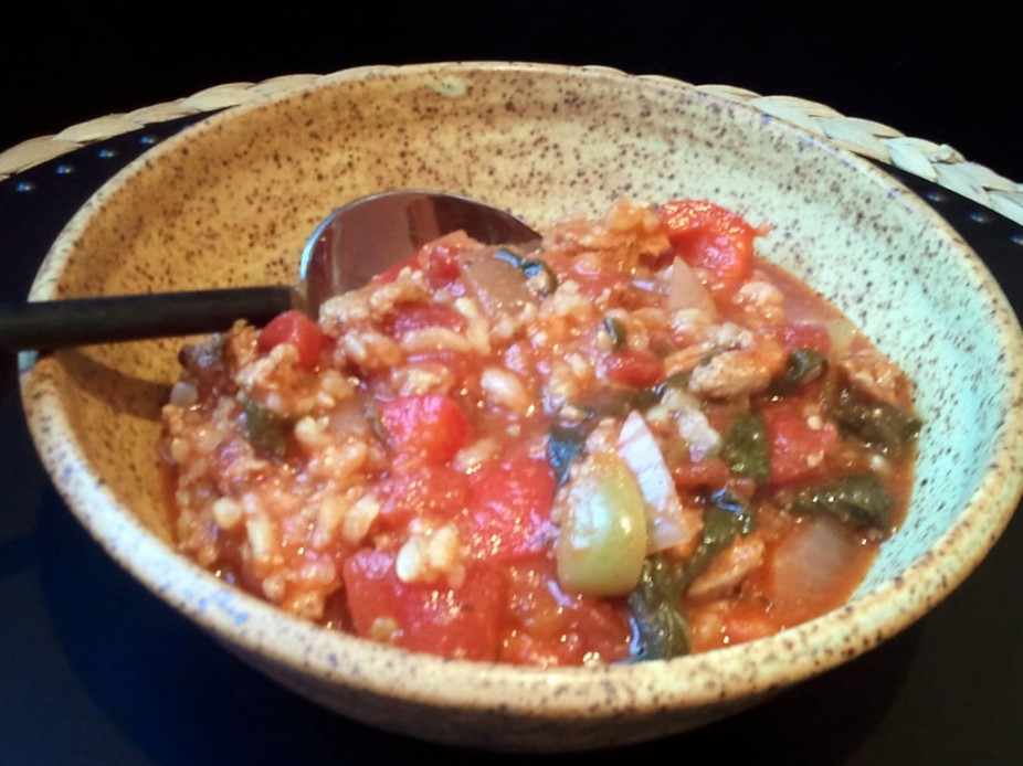 Unstuffed Pepper Soup